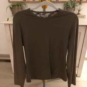 Authentic Burberry long sleeve. Size L.